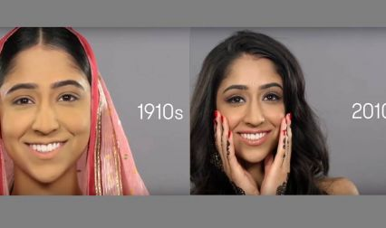 This Powerful Video Shows 100 Years Of Indian Beauty In Less Than 2 Mins