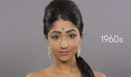 Peek-A-Boo: 100 Years Of Indian Beauty Within 2 Mins