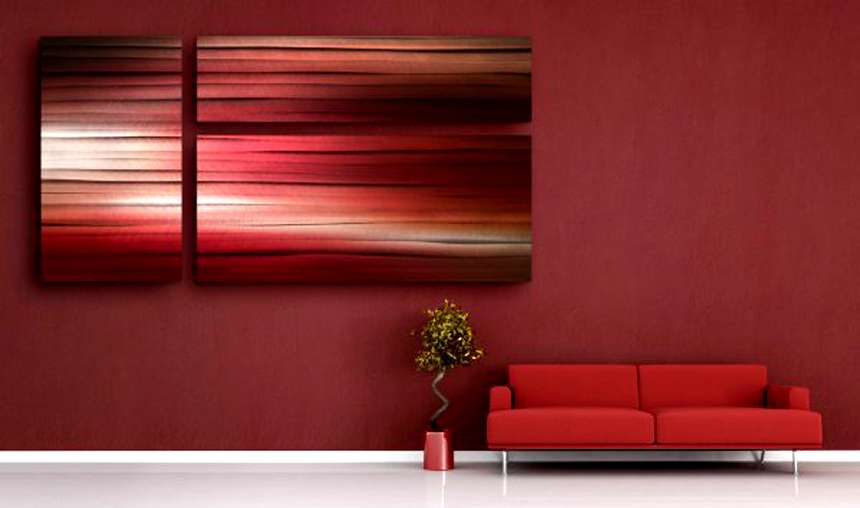 Marsala Colour wall