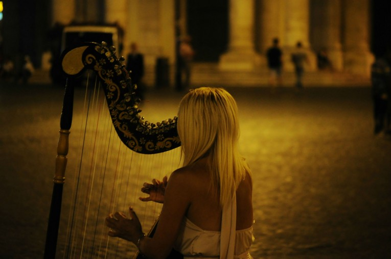 Surrendering to the magic of music