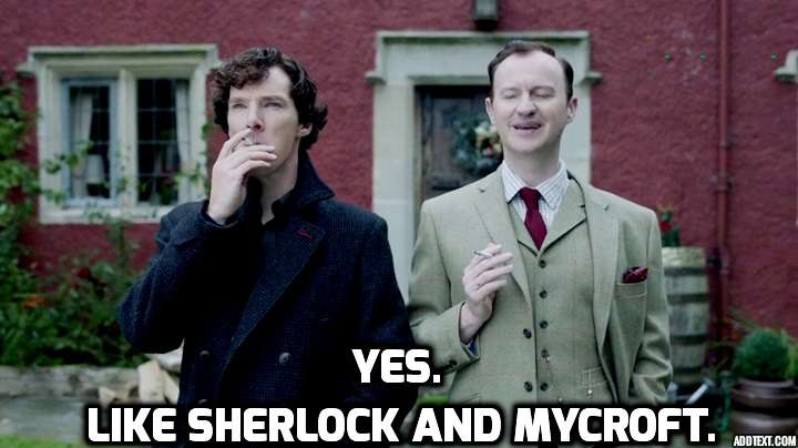 Sherlock and Myrcroft