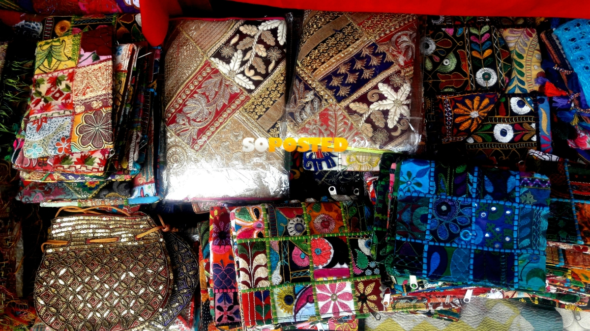 Colourful clutches