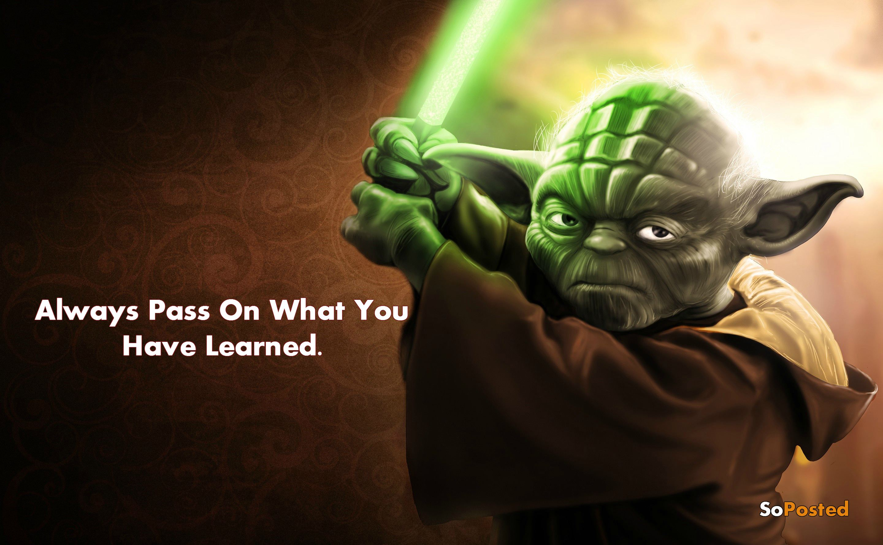 Yoda Ultimate Quotes By The Jedi Master Soposted