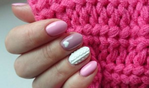 Sweater Nail Art For A Classic Wintry Look