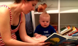Bookworm Baby Cries Every Time A Book Ends