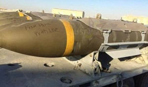 Keeping Up With Their Tradition US Military Is Writing Messages On Bombs Before Dropping Them On ISIS