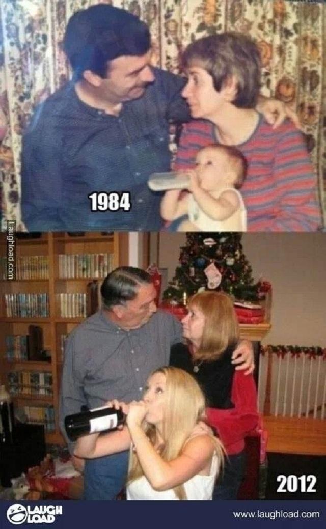 family-now-then-photos