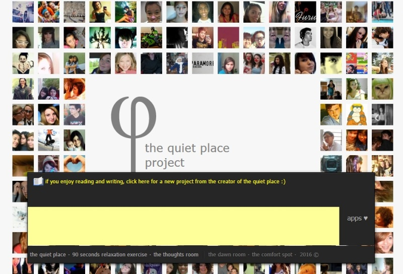 Thequietplaceproject