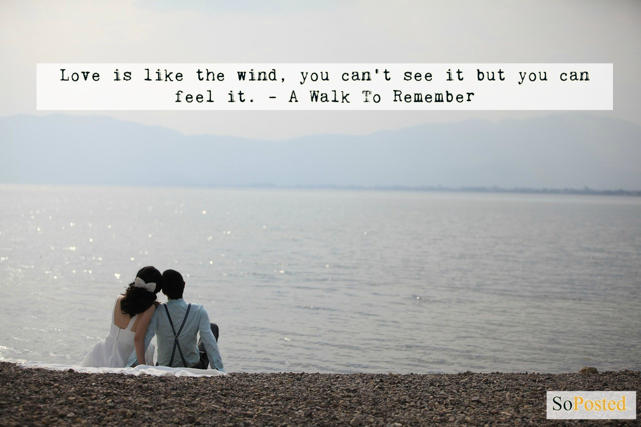 Magical Love Quotes Feel The Magic Of Love With These Nicholas Sparks' Quotes  Soposted