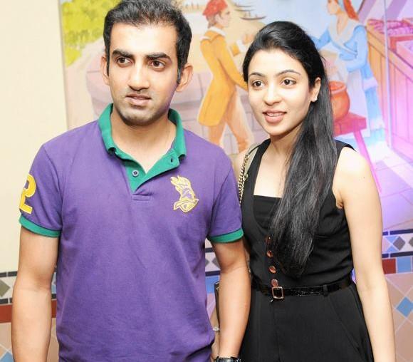 Gautam Gambhir And Natasha Jain