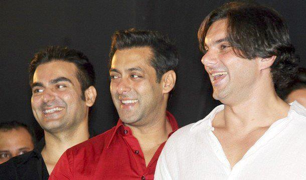 Salman Khan, Sohail Khan And Arbaaz Khan