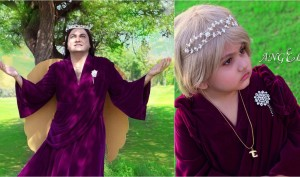 After Eye-To-Eye, Taher Shah Is Back As An 'Angel'