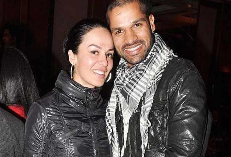 Shikhar Dhawan and Ayesha Mukherjee
