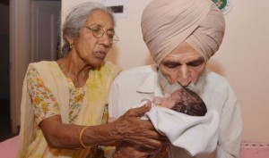 Mother at 70: This Woman Gave Birth To Baby Boy After 46 Years Of Marriage