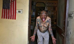 Bizarre: This 74-year-old Delhi Man Got 500 tattoos, Teeth Removed To Enter In Guinness Book