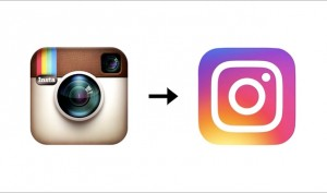 It's a new logo for Instagram, fanatics not happy with the change