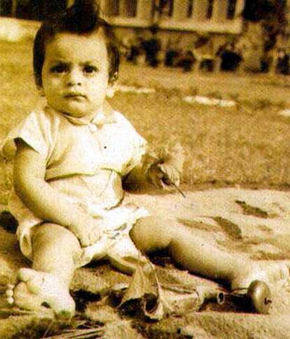 shahrukh khan childhood pics