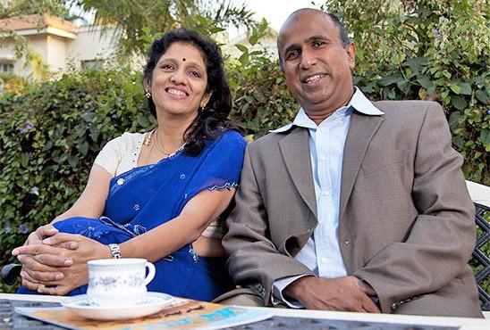 Krishnan Ganesh and Meena Ganesh