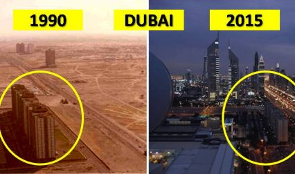 10 Iconic World Cities And How They've Changed Over Time