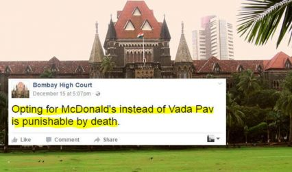 13 Judgments Passed By Bombay High Court Parody Page That Are More Than Just Funny!