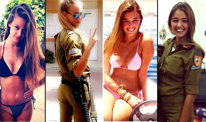 Women In Israel's Army Look Something Like This. They Heat Up Instagram With These ...
