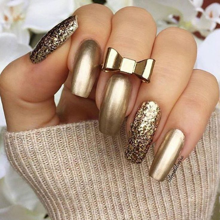 The Glamour Filled Nail Art Soposted
