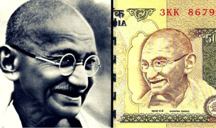Where Did This Gandhi's Photo On Currency Notes Came From?