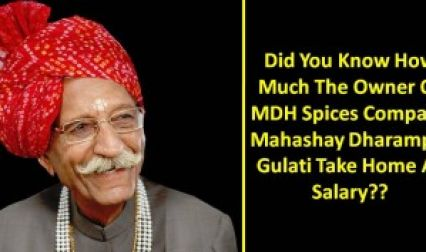You Know Him, Right? But Have You Ever Wondered About His Salary? MDH Masale
