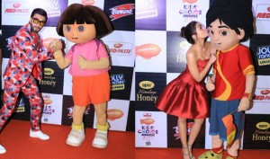 Ranveer Singh, Alia Bhatt bag Nickelodeon Kids Choice Awards 2017
