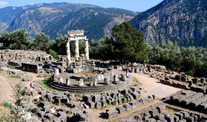 Greece Delphi – Center of the World