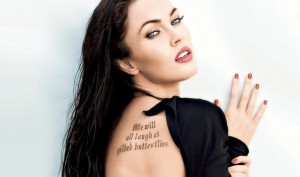 Celebrity Tattoo Regret – Megan Fox