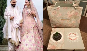 Anushka Sharma, Virat Kohli's grand reception invitation card is here, see pic
