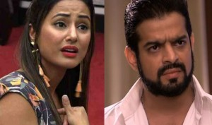 Bigg Boss 11: Karan Patel takes a jibe at Hina Khan once again, says 'Miss Grace' is jealous