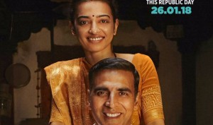 Padman new poster: Akshay Kumar and reel wife Radhika Apte share sweet chemistry