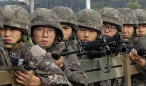 South Korea fires 20 rounds of warning shots after North Korean soldier defects across border