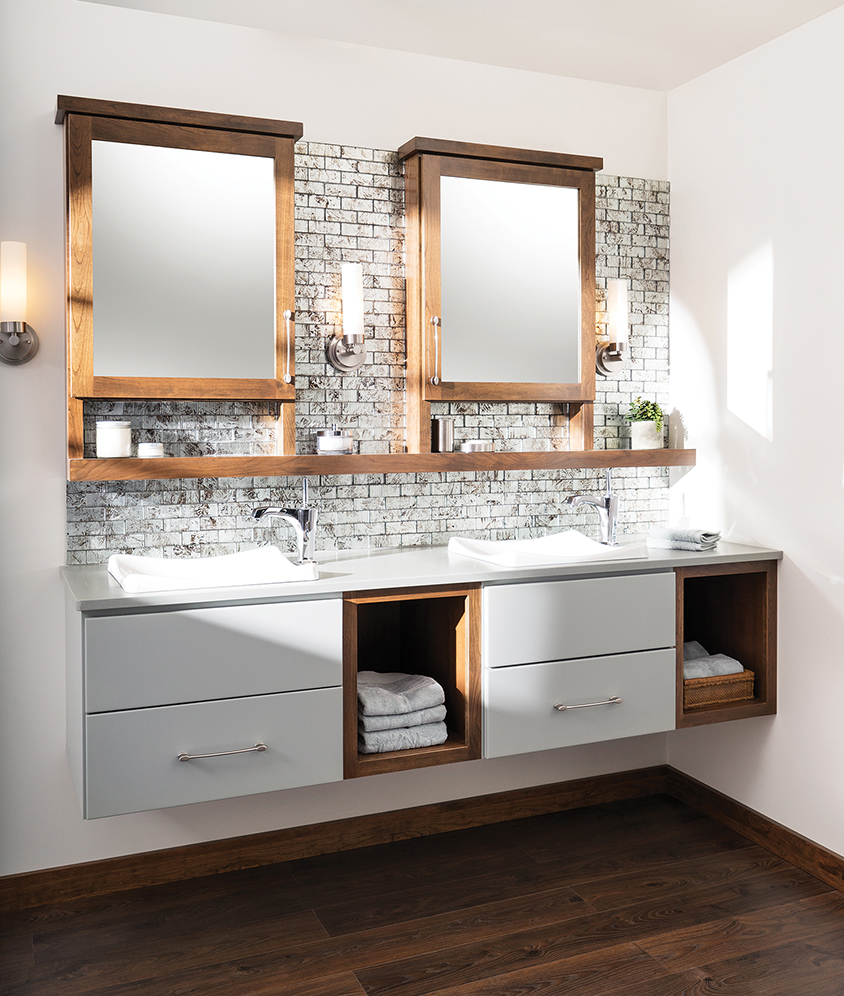 Customized Bathroom With Sink Vanities Soposted