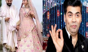 Karan Johar calls Virat-Anushka's wedding album dignified, elegant and beautiful