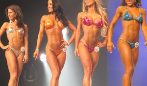 The Difference in Female Bodybuilding, Figure Competitions, Bikini Contests, and Women's Physique