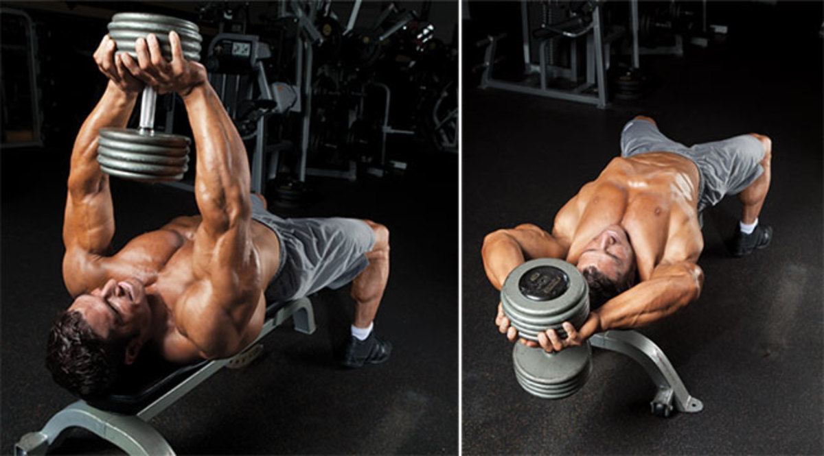 The Best Dumbbell Chest Exercises Soposted Com