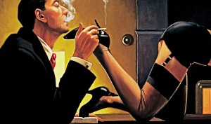 Jack Vettriano and the Scandal of & The Singing Butler""