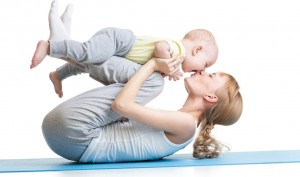 Fitness Yoga Tips For Moms With Newborns