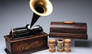 Phonographs – How Edison Caught Sound