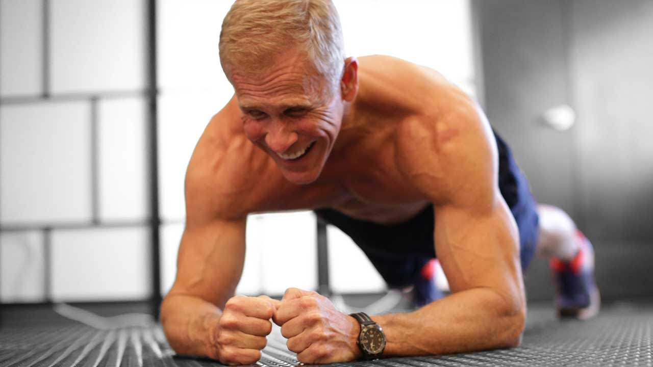 Fit 60 year old man