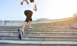 A Running Stairs Cardio Workout That Gets You Lean Quickly