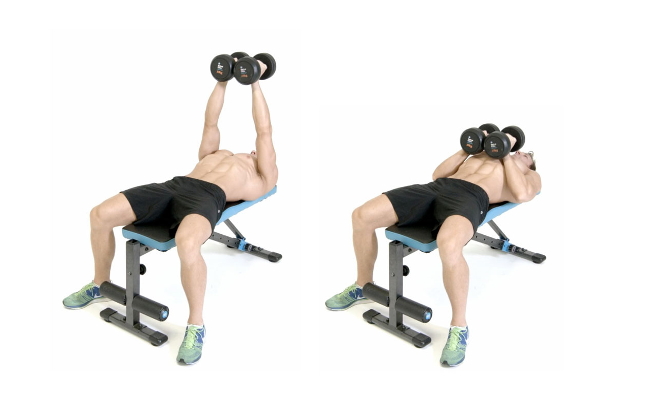 Dumbbell Chest Exercises Soposted Com