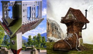 Top 6 most unusual houses in the world that will make you go OMG!