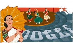 Google honours legendary classical dancer Mrinalini Sarabhai with a doodle