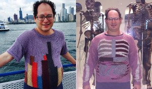 American man knits sweaters to replicate the scenery of his vacation spots