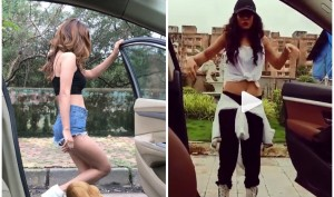 Mumbai Police disapproves of viral 'In My Feelings' challenge that Nia Sharma, Kushal Tandon shared on social media