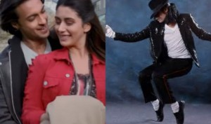 Watch: Michael Jackson's killer moves on Aayush-Warina's Chogada song from Loveratri